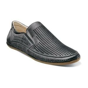 Stacy Adams Northshore Perforated Slip On Shoes
